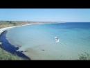 """Привет песчаного пляжа западного Крыма! здесь снимали  фильм """"Человек амфибия"""""""
