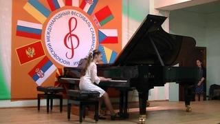 Волошина Ксения исполняет Ц.Кюи Вальс на Фестивале, 2015г