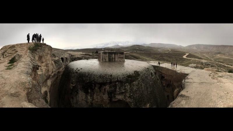 Невероятная ступа Тахт-е Ростам (Афганистан)