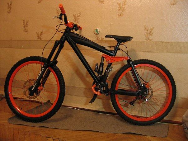 Покраска велосипеда своими руками в домашних условиях
