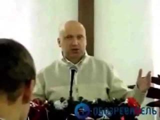 Баптист Турчинов проповедует. Ныне и.о. президента Украины