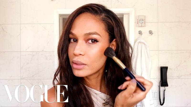 Joan Smalls Guide to Sculpting—Not Contouring!—Your Skin | Beauty Secrets | Vogue