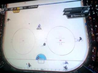 NHL 2014 HUT mode. Khudobin test match in First division