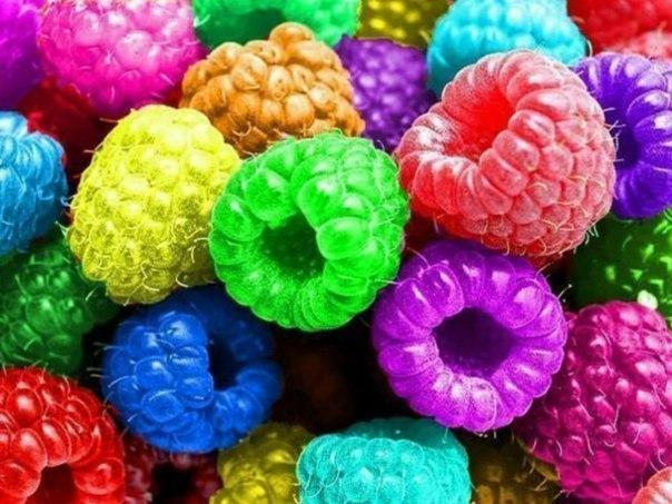 картинки цветов радуги: