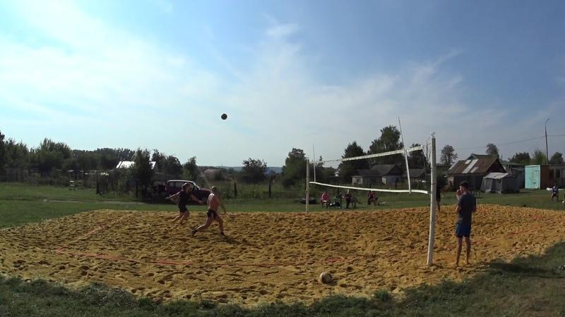 Игра 2 Пляжный волейбол - закрытие сезона микст Новосиль 2018/09/15
