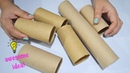 Best Reuse Idea With Empty Tissue Roll  How To Recycle Tissue Roll