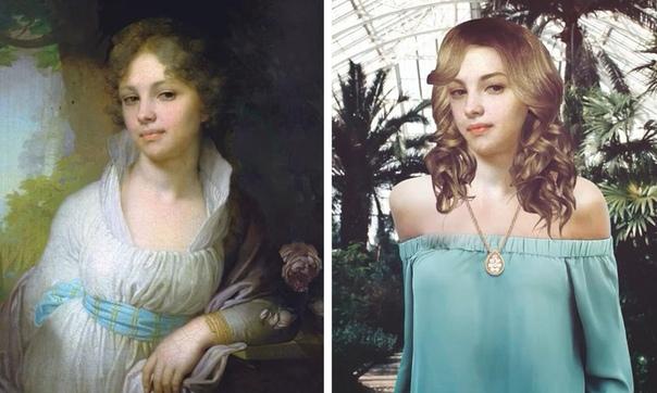 Если бы персонажи картин жили в современном мире