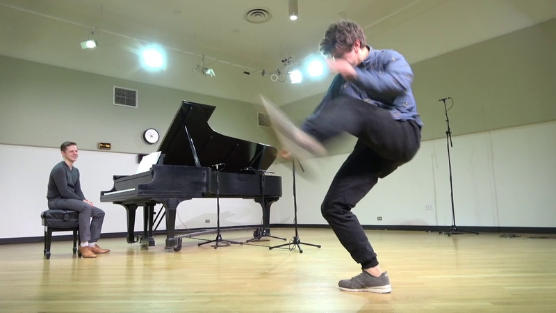 Countertenor Jakub Józef Orliński breakdances in the WFMT studios