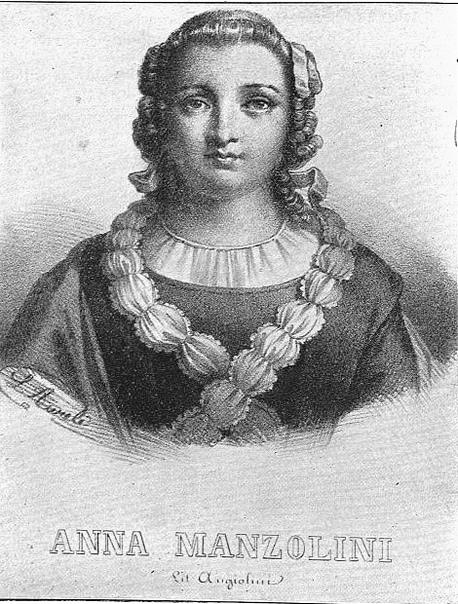 Эту необычную женщину зовут Анна Моранди Манцолини Она жила в XVIII веке, преподавала анатомию и создавала восковые анатомические модели. Ее работы были известны по всей Европе, она даже была