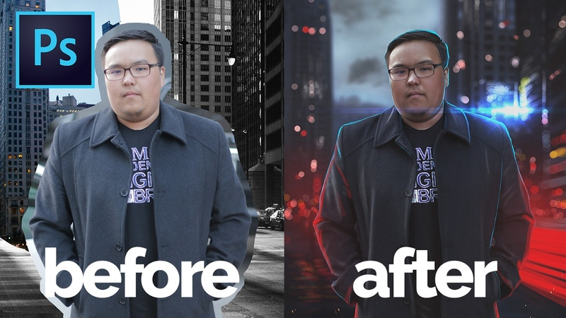 Learn to Composite Multiple Images Into One in Adobe Photoshop | Inspired from Max Asabin