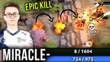 Miracle- Shadow Fiend 200IQ EPIC High Risk Plays - What A Player Dota 2