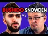 BUSHIDO vs. SNOWDEN - Rap Battle #10 - Digges Ding Comedy