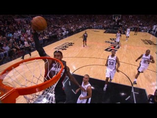 LeBron James Caps Off the Fast Break