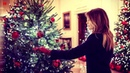 Melania Trump unveils extravagant White House Christmas decorations