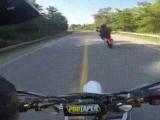 Пижон на мотоцикле