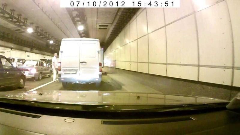 ЧП (пожар) в Северо-западном тоннеле 10.07.2012 (ч. 1)