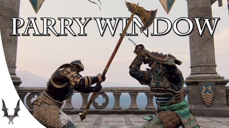 For Honor - Parry Window affected by Hit- / Blockstun
