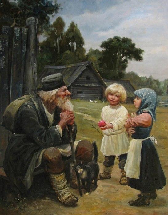 Славянская тематика Андрея Алексеевича Шишкина