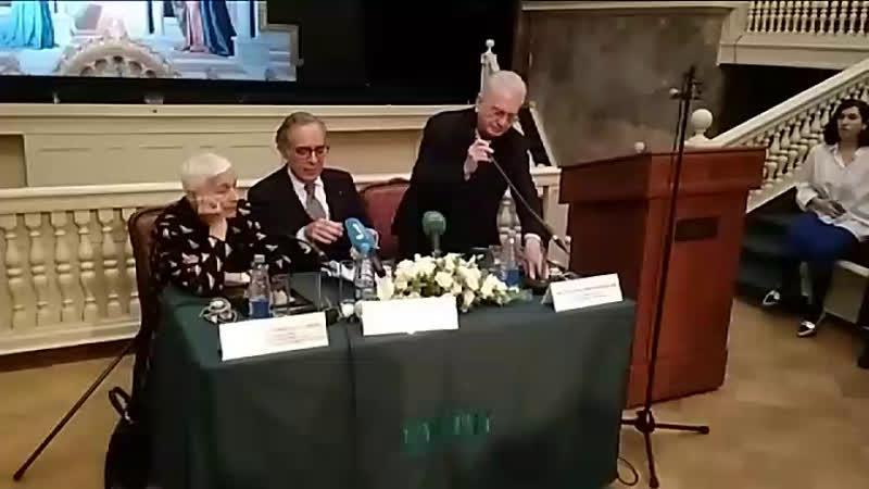 Пресс-конференция, посвящённая открытию выставки в Эрмитаже великого живописца Пьеро делла Франческа. Монарх живописи