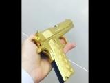 Золотой COLT 1911Как вам