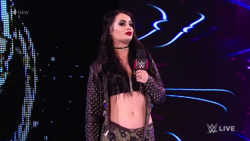 WWE Monday Night Raw 21st November 2017 - Paige returns to WWE alongside Raw newcomers Mandy Rose and Sonya Deville