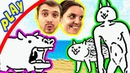 БолтушкА и ПРоХоДиМеЦ Открывают РЕДКИХ КОТИКОВ! 204 Игра для Детей - The Battle Cats