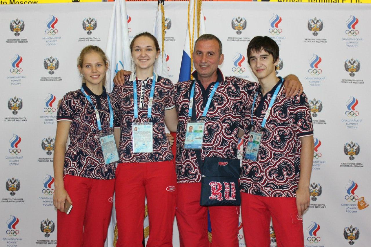 Russian team Taekwondo Nanjing 2014