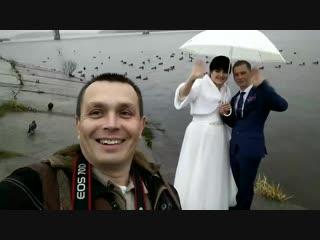 3 ноября 2018 снимаю свадьбу Алены и Романа г. Кострома.