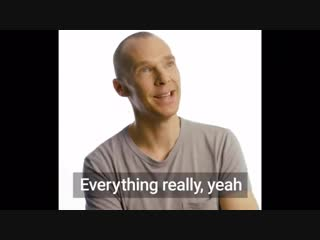 Benedict Cumberbatch was asked what he wished he knew before becoming a parent. - from