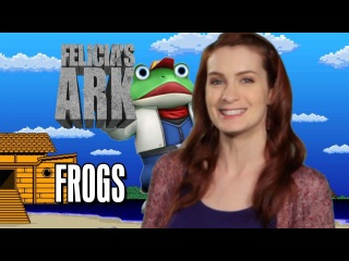 Felicia Day, Battletoads, and Star Fox! - Felicia's Ark: Frogs