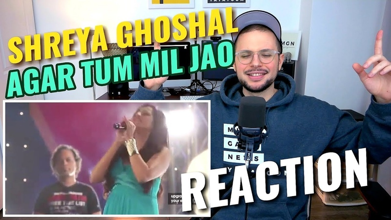 Shreya Ghoshal - Agar Tum Mil Jao | live at Sony Project Resound Concert | REACTION