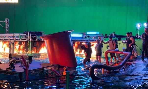 Новое официальное фото со съёмок одного из четырех сиквелов «Аватара»