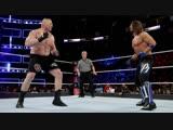 (WWE Mania) Survivor Series 2017 Brock Lesnar Universal Champion vs Aj Styles WWE Champion (Champion vs Champion)