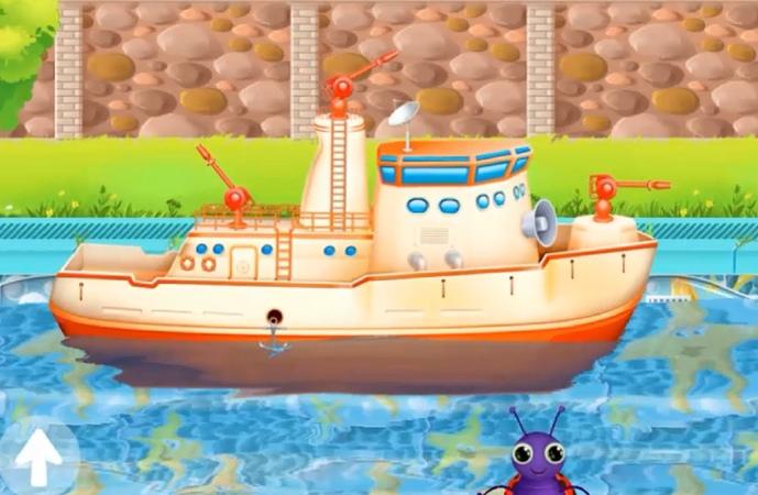 Мультики про кораблики. Смотреть мультфильм для детей про кораблики на русском языке. мультики_про