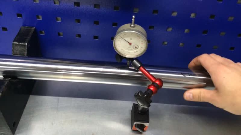 Искревленое перо передней вилки после ДТП Yamaha TTR 250...
