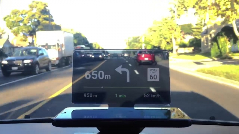 Head-Up Display (HUD) For Less than $50 _ HUDIFY _ Navigation of the Future