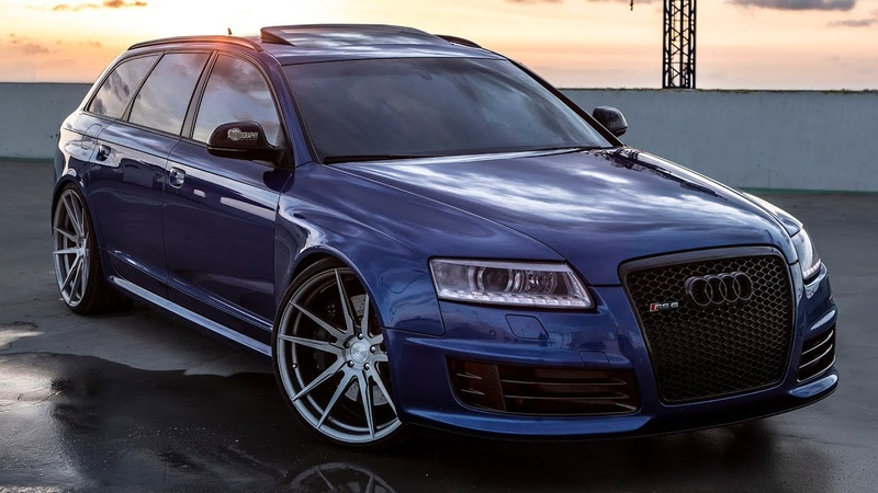 WHEN AUDI WENT TOTALLY CRAZY - The V10 TWINTURBO legendary AUDI RS6 C6 AVANT - 700hp800Nm