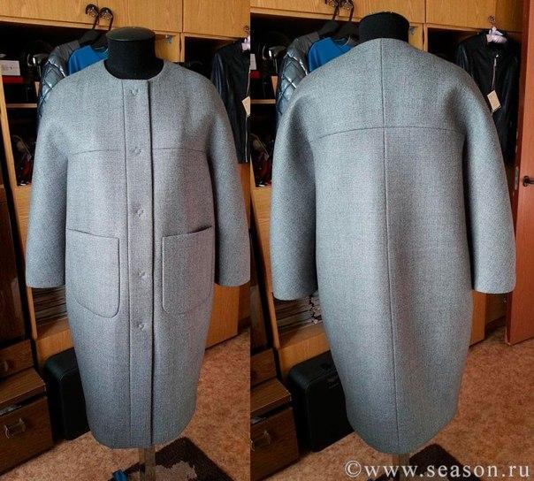 Из чего сшить пальто без подкладки