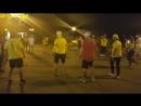 Ночной футбол на набережной