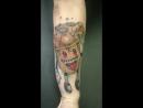 Работа выполнена при поддержке пигментами Краска tattoo ink оборудование Mustang Tattoo @mustangbrand mustangtattoo proteammus