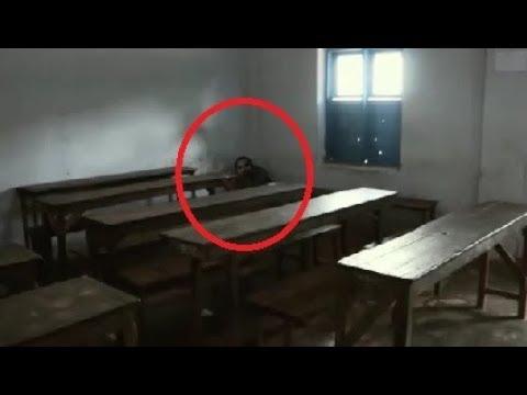 学校の中で撮影された恐ろしい奇妙な現象TOP5