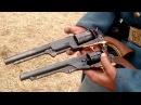 Colt Walker VS Colt Army VS 1858 Remington 1st Minn Sharpshoooters