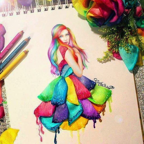 Stunning vector pencil pics