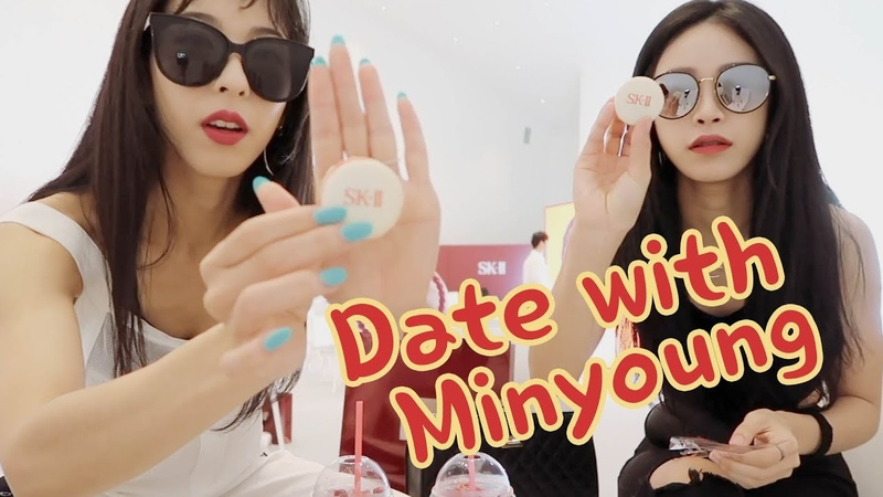 [ENG cc] 미나명의 피부 나이를 공개합니다 뚜뚠 민영팍과 동대문 데이트❣️Date with Minyoung at DDP!