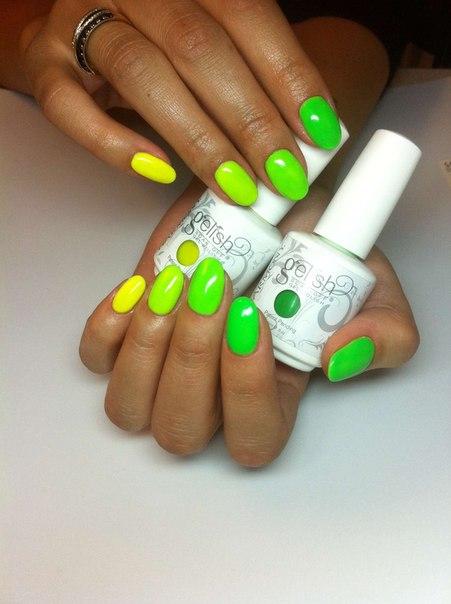 25 июл 2013 в 8:22.  Девочки, ищу модель на покрытие гель-лаком, с отработкой разноцветных ногтей.