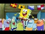 Губка боб квадратные штаны смотреть Атака зомбирыб новая серия игра как мультик для детей Spongebob