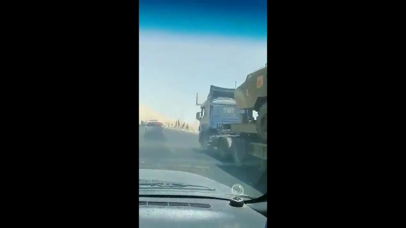 Тактические ракетные комплексы Точка транспортируют в направление Идлиба