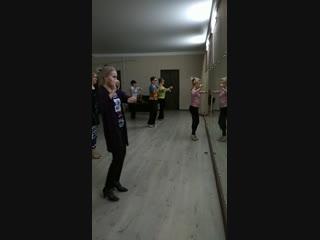 Снежное Танго урок женских техник