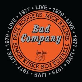 Bad Company альбом Live 1977 & 1979