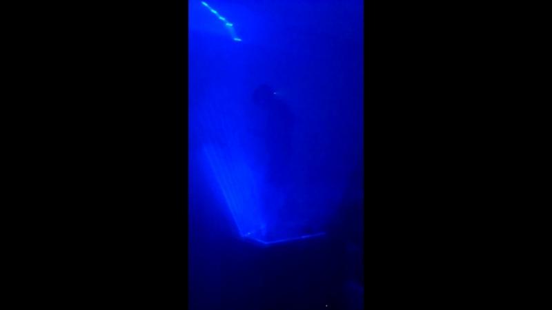 Лазер шоу на презентации volkswagen touareg